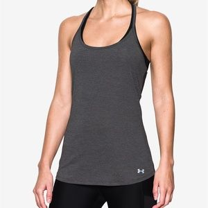 Under Armour Tops - NWT! Under Armour Fly By Racerback Tank Top